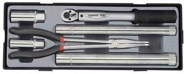 Set di utensili per candele di accensione 6 pezzi