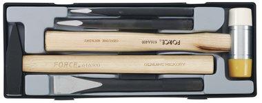 Set di martello e scalpello 5 pezzi