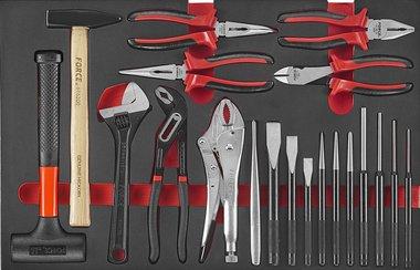 Set martello e pinze in schiuma 20 pezzi