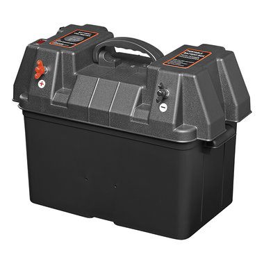 Vano batterie 33x20x20 cm 2x USB - 2x presa 12V - 2x connettori Anderson