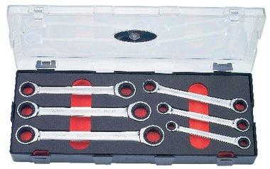 Set di chiavi a cricchetto ad anello 6 pezzi