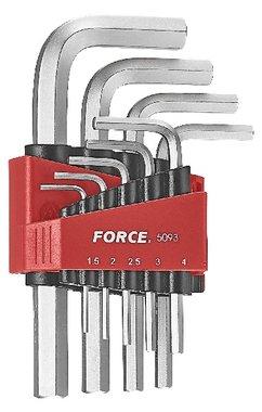 Set di chiavi a bussola angolari SAE 9 pezzi