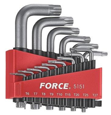 Set di chiavi angolari Torx 15 pezzi