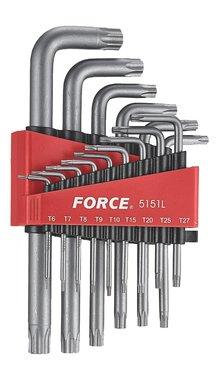 Set chiavi Torx angolari lunghe 15 pezzi