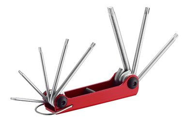Set di chiavi a resistenza pieghevole 8 pezzi