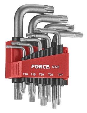Set di chiavi angolari Resistorx 9 pezzi