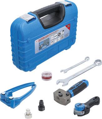Serie di utensili per svasare, piegare e separare per tubazioni freno 4,75 mm (3/16)