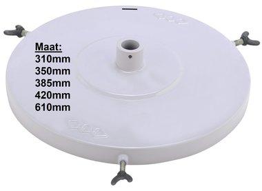 Coperchio della pompa pneumatica per grasso