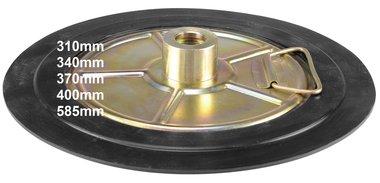 Pompe pneumatiche per grasso a piastra seguipersone