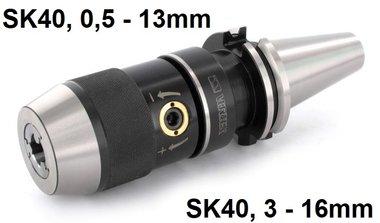 Mandrino a serraggio rapido SK40 DIN69871