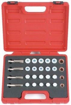 Kit di riparazione per lo scarico dell'olio 64 pezzi