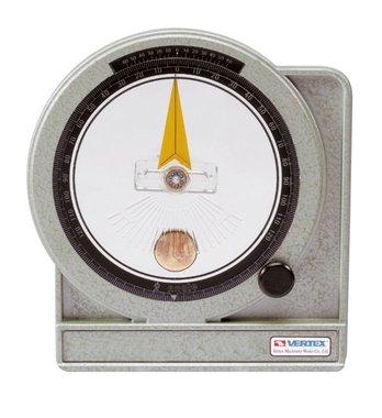 Goniometro a bagno d'olio - metallo - 0,05°