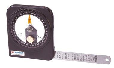 Goniometro a bagno d'olio - plastica - 0.1°