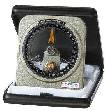 Goniometro a bagno d'olio - metallo - 0,083°