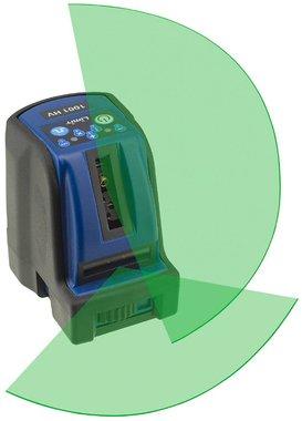 Cross line laser 2 linee con luce laser verde