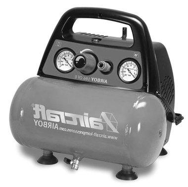 Compressore senza olio 8 bar - 6 litri