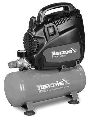 Compressore senza olio 8 bar - 6 litri, 385x170x465mm