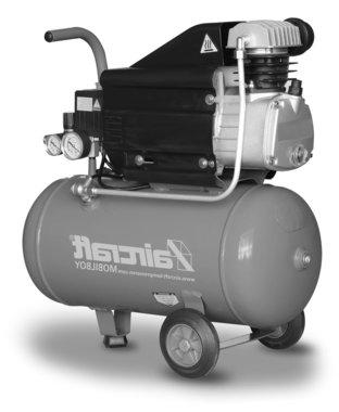 Compressore mobile 8 bar 25l 113l/min