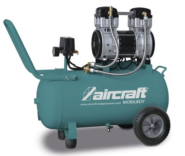 Compressore mobile a bassa rumorosita 8 bar 50l 140l/min