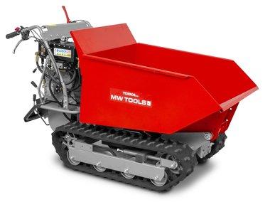Mini dumper cingolati 500 kg 6F+2R