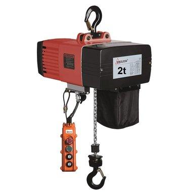 Paranco elettrico a catena DEH 2 ton