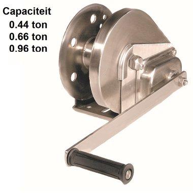 Argano manuale BHW in acciaio inossidabile
