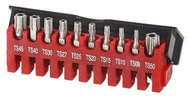 Set di bit Resistorx TS 10 a 5 lati