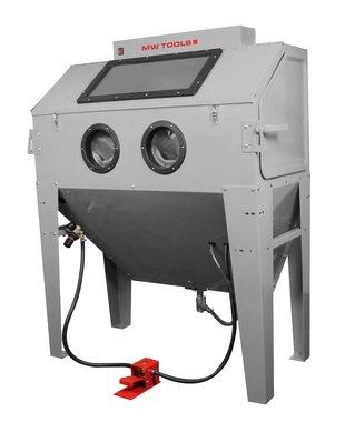 Cabina di sabbiatura 420 litri