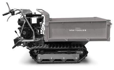 Mini dumper cingolato 500kg rettangolare 6F+2R