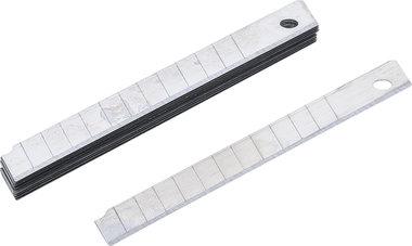 Serie di lame di ricambio 9 mm 10 pz