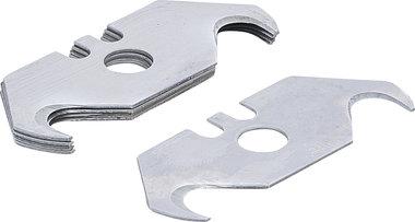 Serie di lame trapezoidali 19 mm 5 pz
