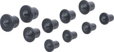 Serie di tasselli di spinta 6 - 8 - 10 mm 10 pz