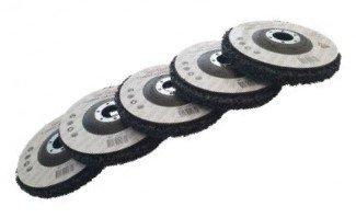 Set di dischi di pulizia adatti 125mm x5 pezzi