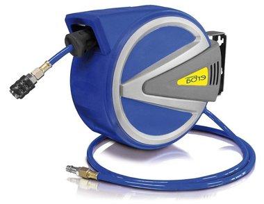 Avvolgitore d'aria compressa AUTOMATICO con 15m+1,5m PU con funzione di arresto