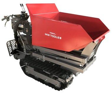 Mini dumper con sollevatore a forbice 500kg 10HP