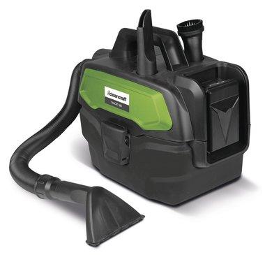 Batteria portatile per vuoto a umido e a secco