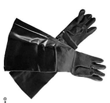 Coppia guanti per sabbiatura CAT210