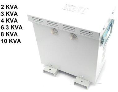 Transfo da 3x220V a 3x400V con alloggiamento