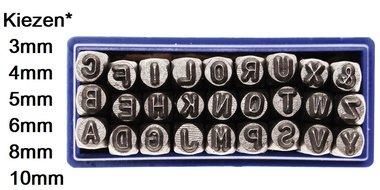 Set di lettere da 3 mm a 10 mm