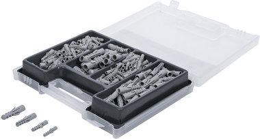 Set combinato di foratura/spina in valigetta da 300 pezzi
