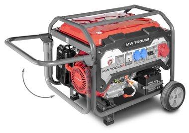Generatore a benzina 6.5kw 3x400v avviamento elettrico