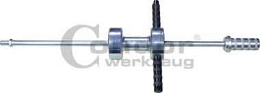 Martello scorrevole, peso 8,5 kg, M18x1,5, 930 mm