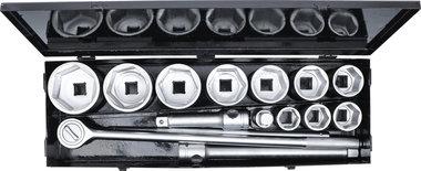 Serie di bussole 25 mm (1) 36 - 80 mm 15 pz