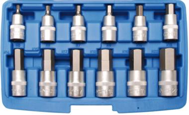 Set di tappi per punte 12,5 mm (1/2) esagono interno disco 12 pezzi