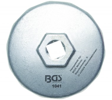 Chiave per filtro dell'olio 14 lati diametro 74 mm