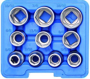 Set chiavi a tubo esagonale da 12,5 mm (1/2) pollice 10 pezzi