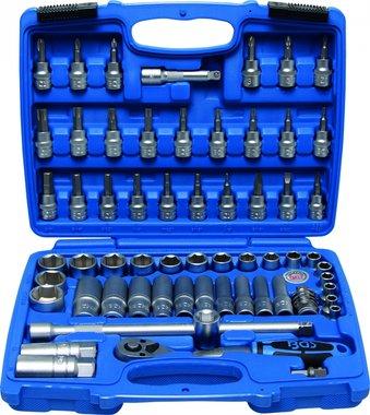 Set di chiavi a tubo 3/8, 61 parti, dimensioni INCH