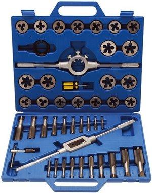 Set per rubinetto e taglio, dimensioni INCH 45 pezzi