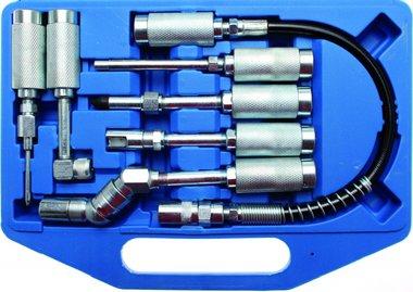 Set di adattatori e accessori per ingrassatori 7 pezzi