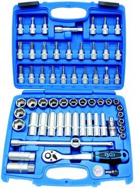 Set di chiavi a tubo 3/8, 61 parti
